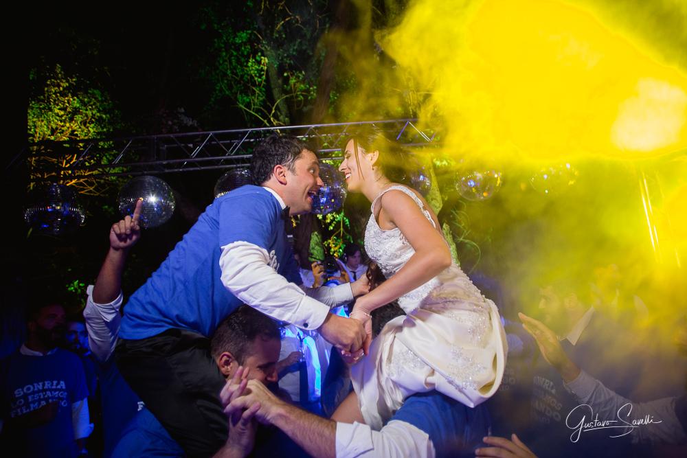 big bruno tocando en terra oliva, fiesta total en la boda de carlita y leo